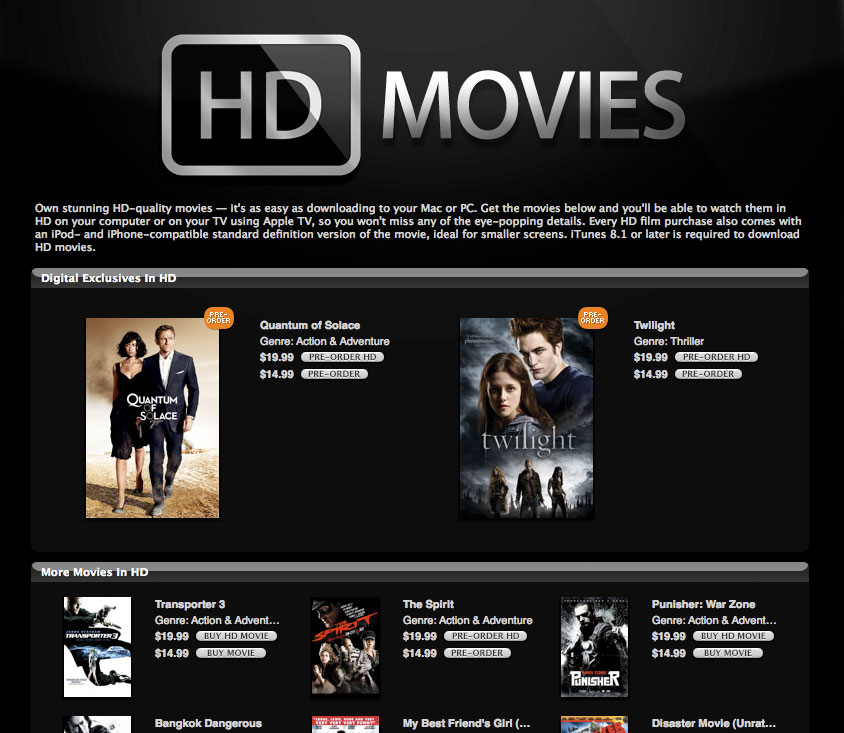 download hd movies itunes