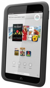 NOOK HD Blk Angle